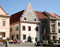 Rekonstrukce fasády Matriky - Tábor