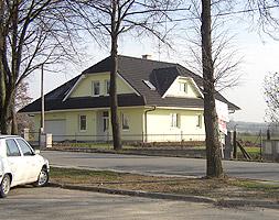 Rodinný dům Planá nad Lužnicí nátěr fasády