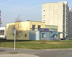 Lékárna Soběslav (sídliště Svákov) nátěr fasády