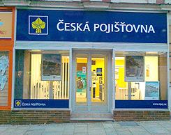 Rekonstrukce pobočky České pojišťovny, tř. 9. května v Táboře
